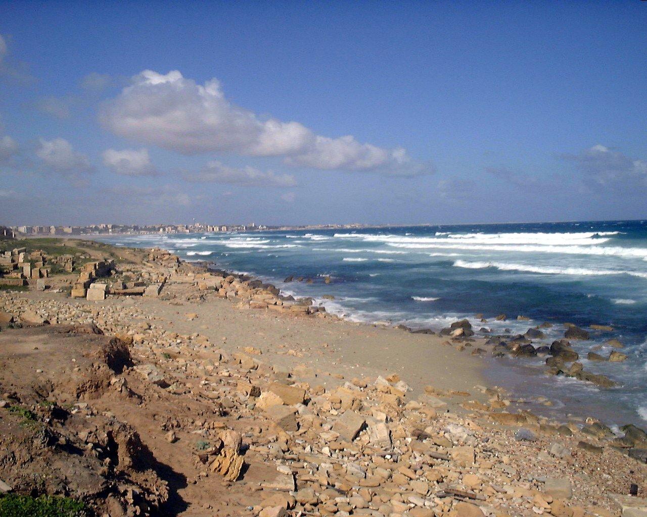 Libye (pobřeží, moře) - Leptis Magna