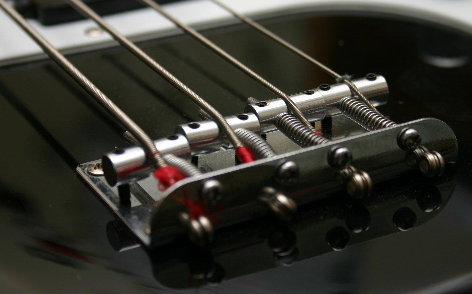 free bass guitar close up stock photo. Black Bedroom Furniture Sets. Home Design Ideas