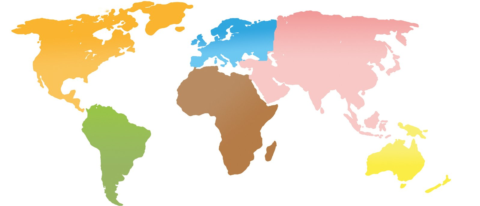 Free continents world map stock photo freeimages continents world map gumiabroncs Images