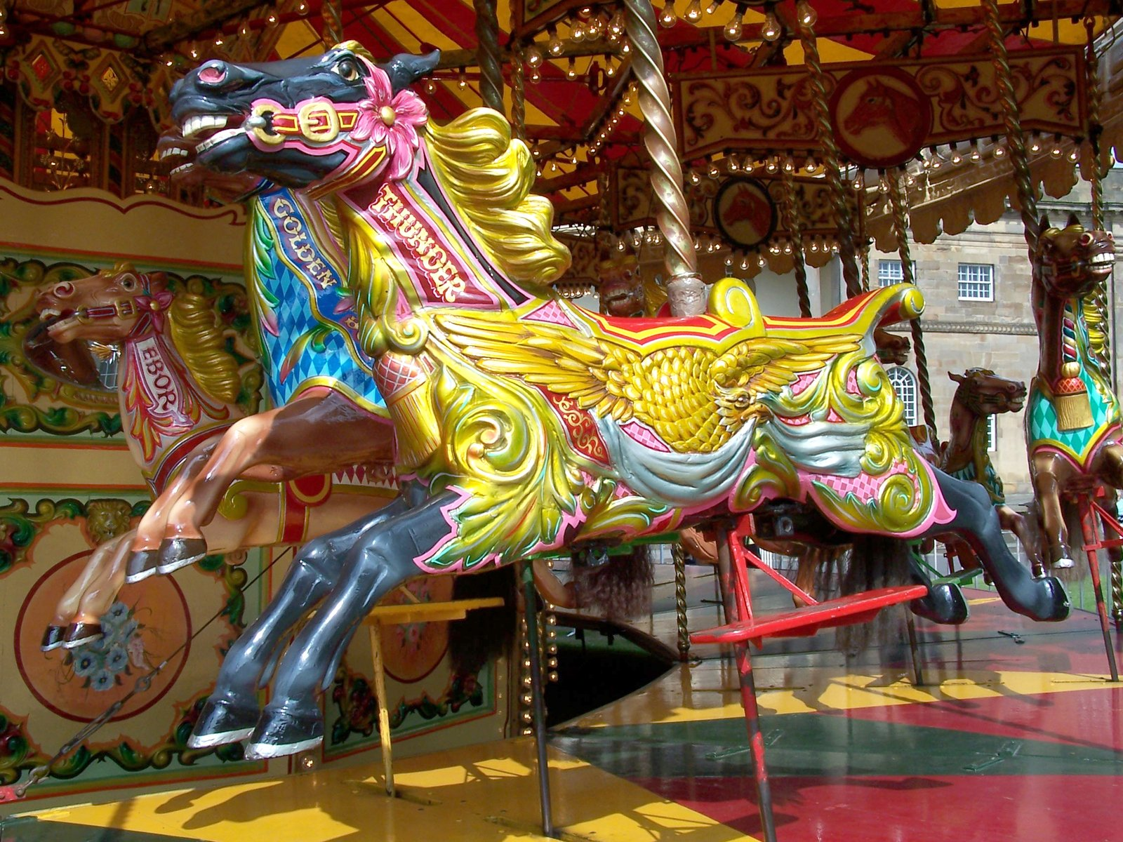Free Carousel Horses 3 Stock Photo - FreeImages.com