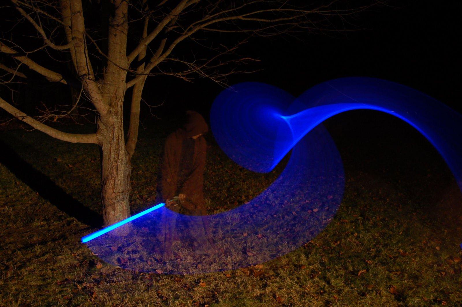 как сделать настоящий световой меч в домашних условиях зимние
