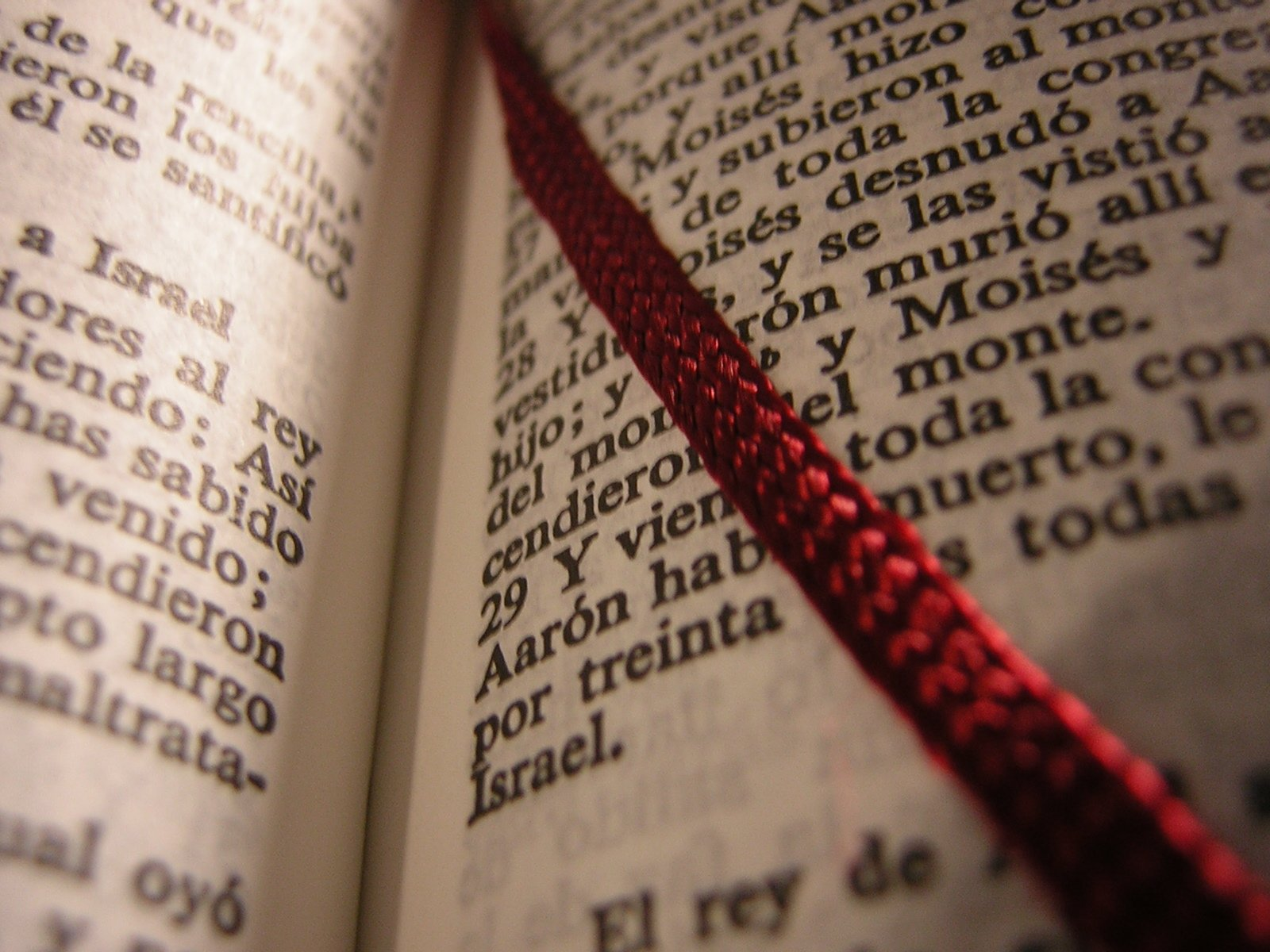 Free Spanish-Language Bible with Bo Stock Photo ...