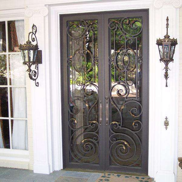 Free Iron Front Doors Stock Photo Freeimages