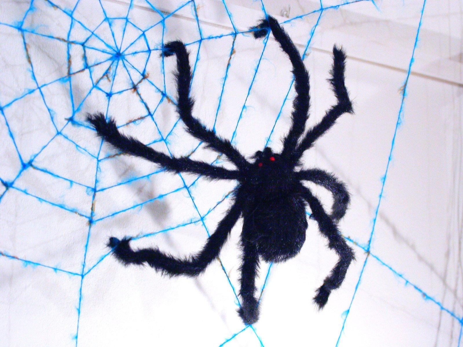 Сетка паука своими руками