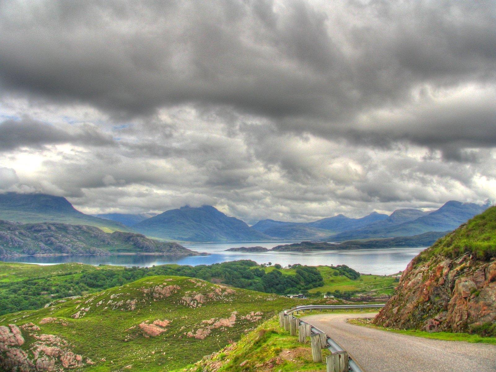 Escocia nublado