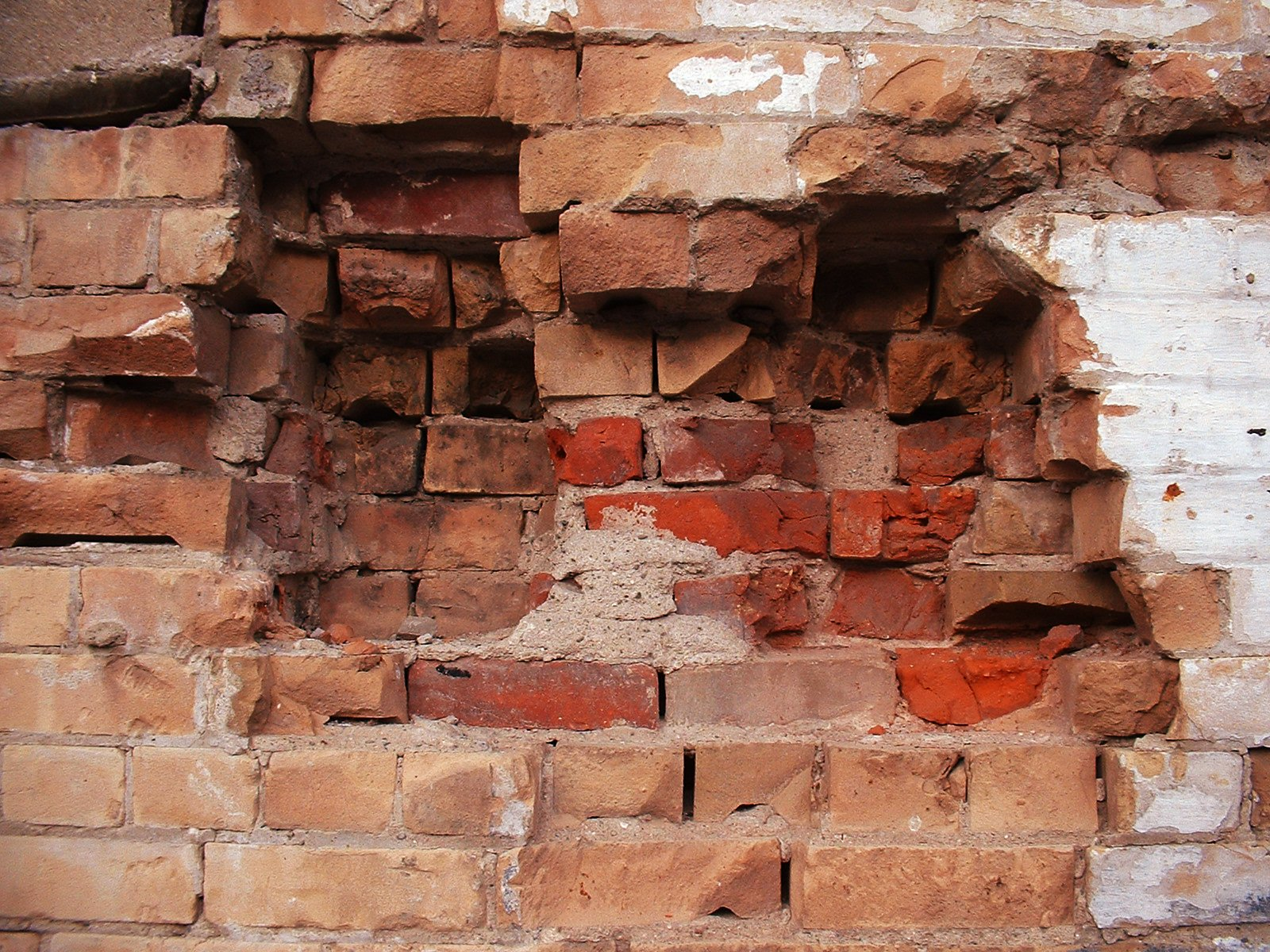 Free Holes in a Brick Wall Stock Photo - FreeImages.com