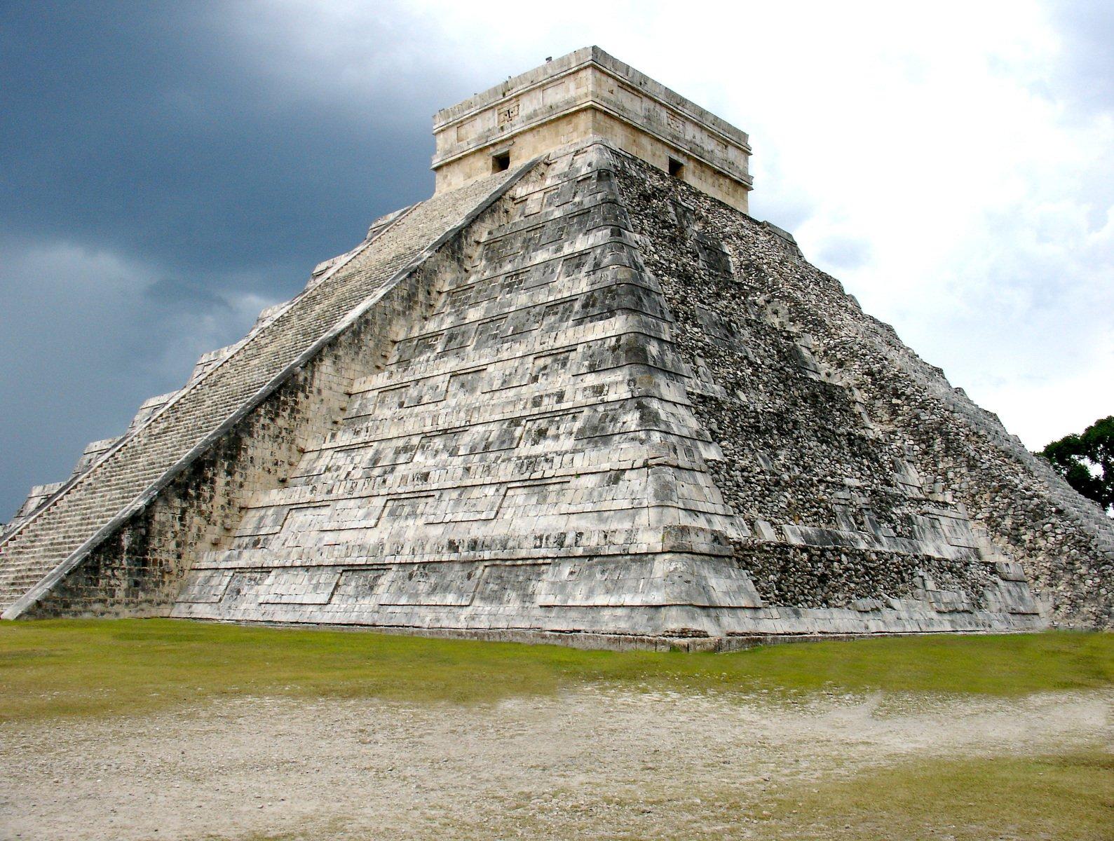 mayan sacrifice temple - HD1589×1200