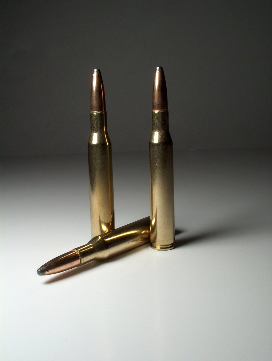 Free one bullet 2 Stock Photo