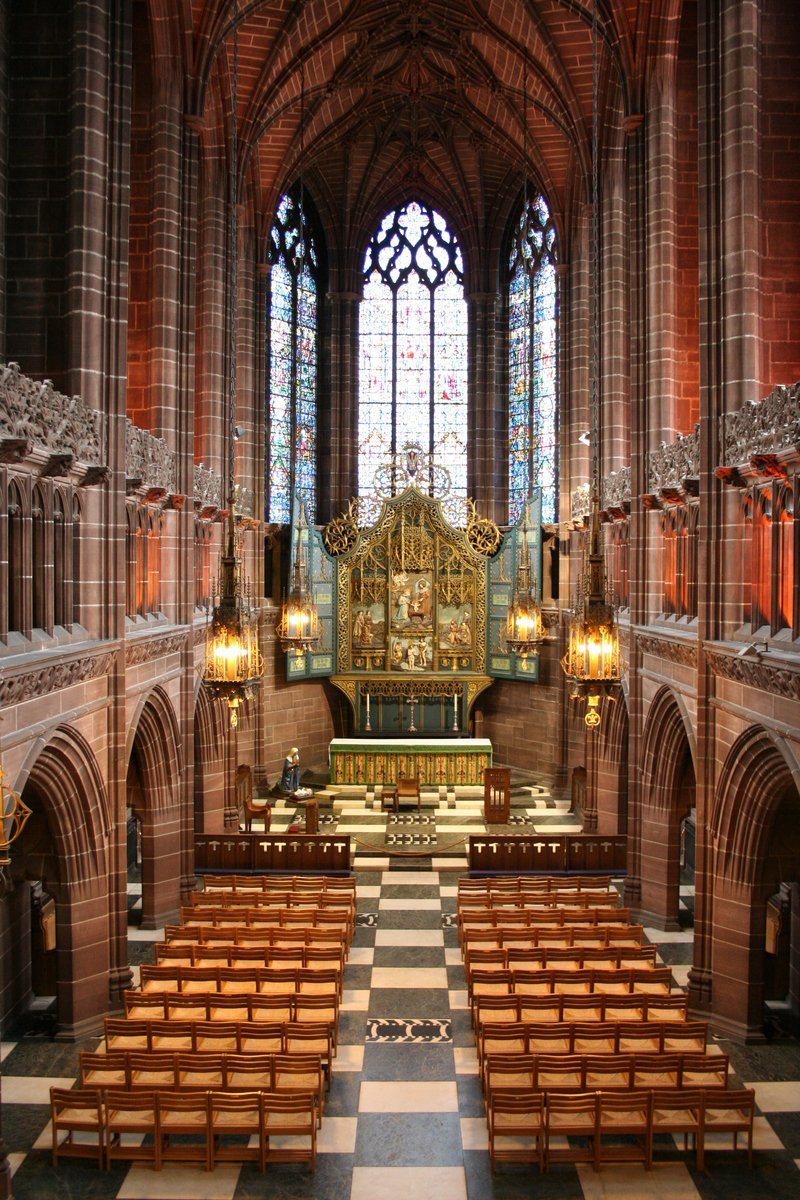 Free Liverpool Cathedral Interior Stock Photo Freeimages Com
