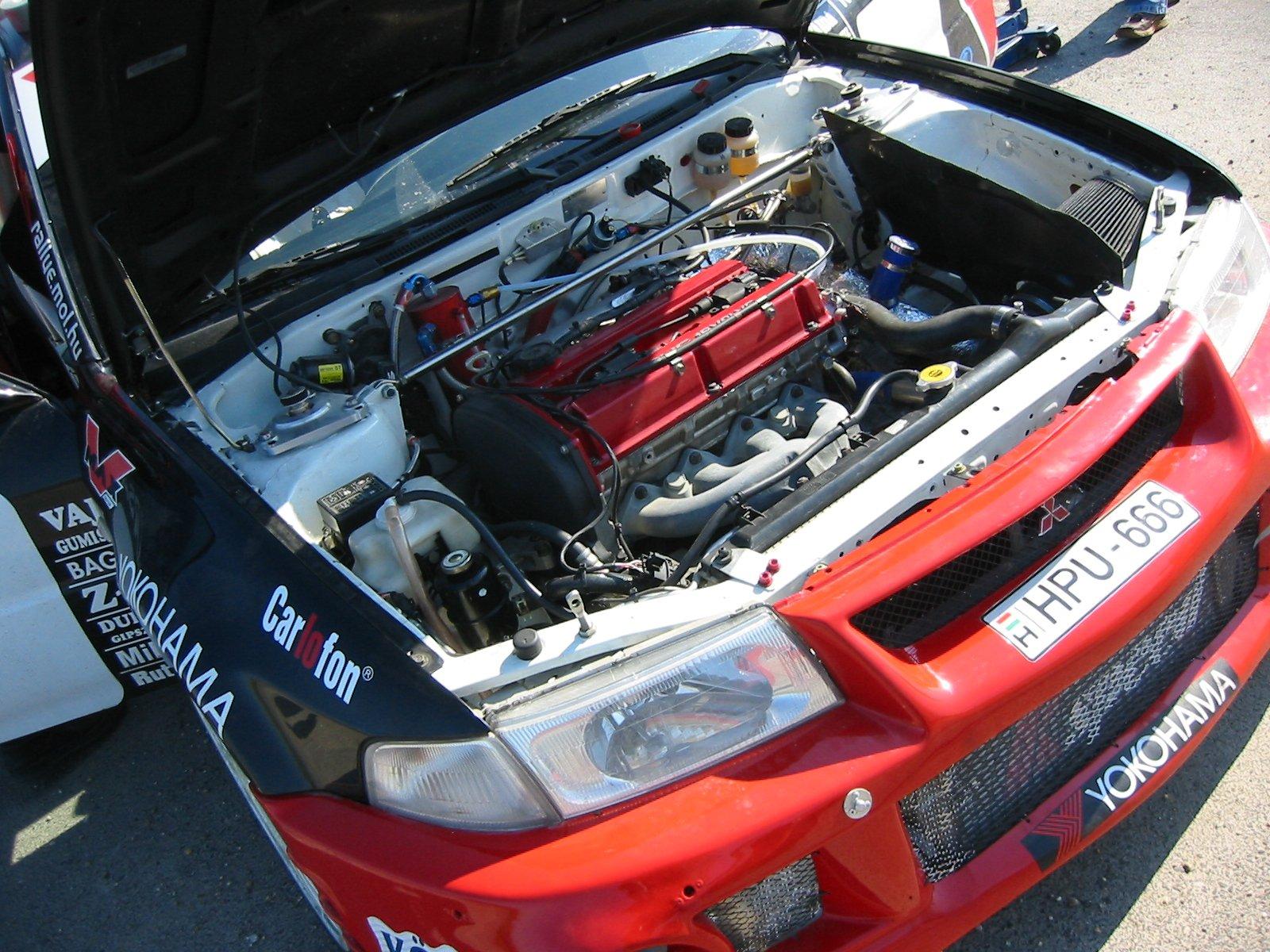 rallye racing car