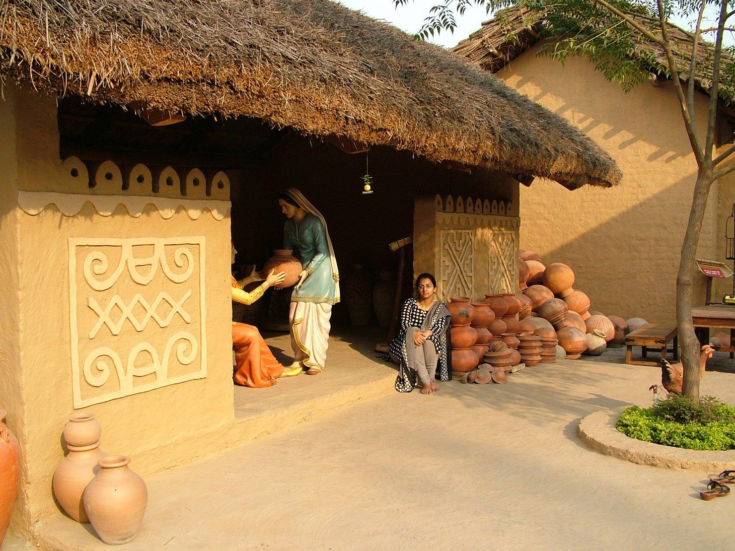 Gratis Indian Village Stock Photo - Freeimagescom-8148