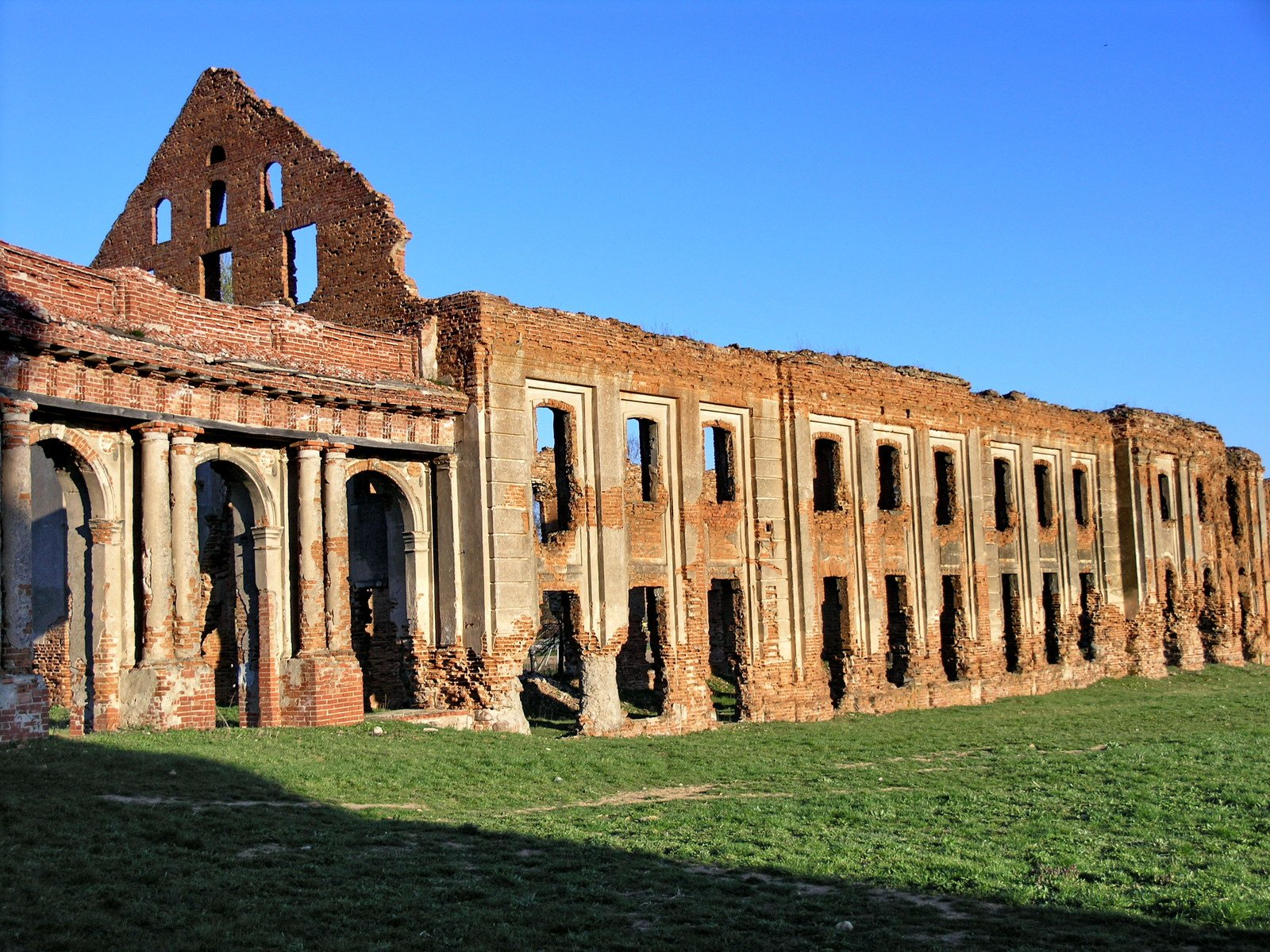 Free Sapega castle in Ruzhiany (Belarus) Stock Photo ...