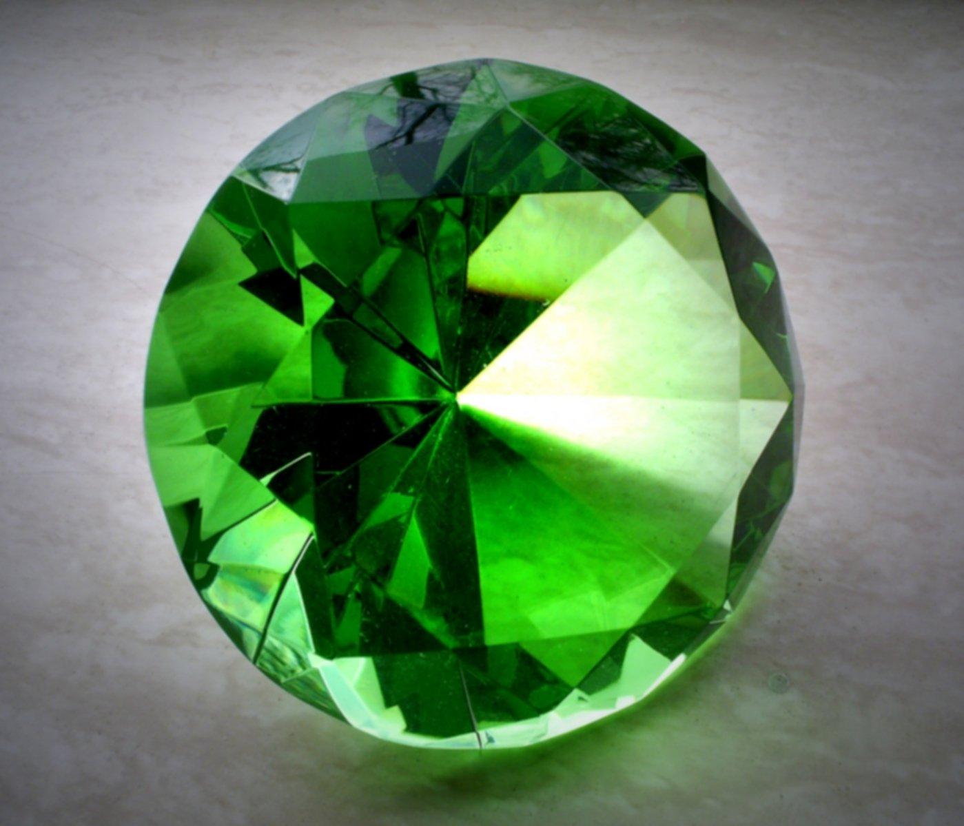 Propiedades de las piedras verdes