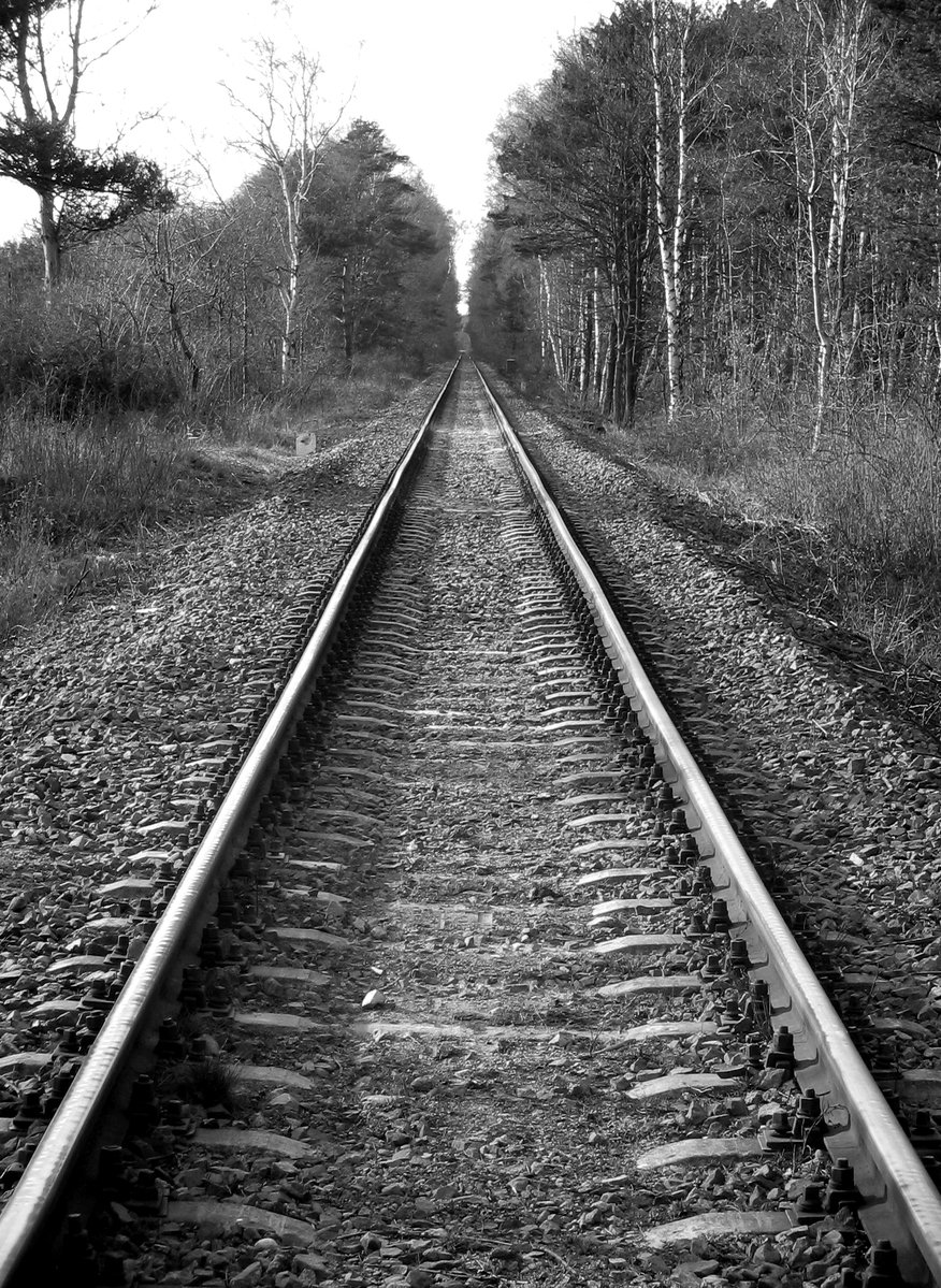 Railroad tracks - Stock Photo - Dissolve