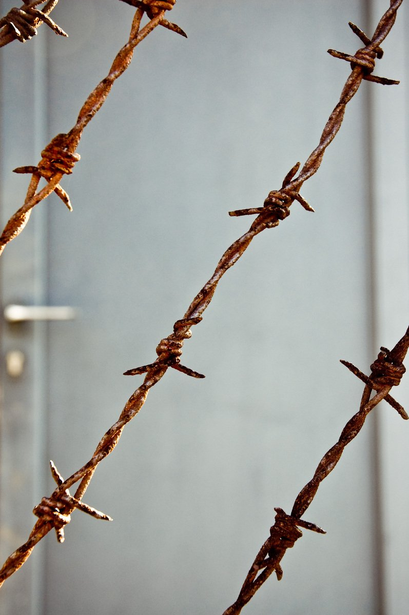 Free ww ii barb wire stock photo freeimages