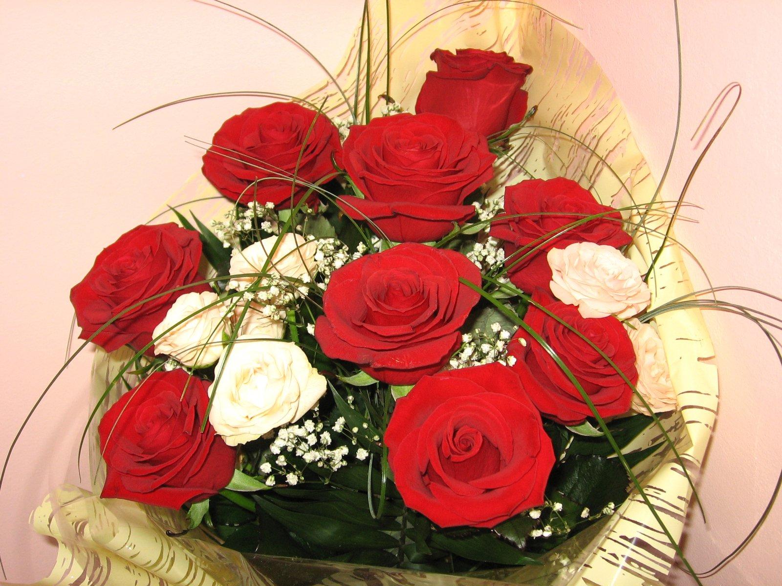 Обычное фото букета цветов