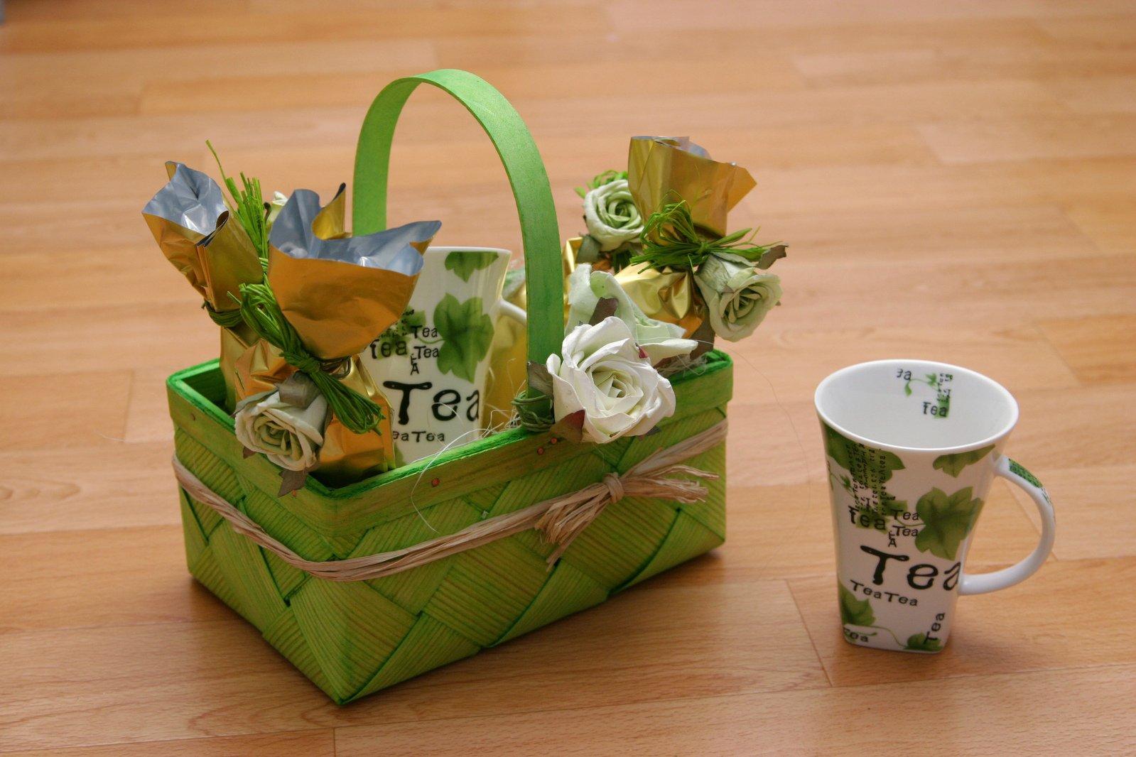 Как оформить чай в подарке