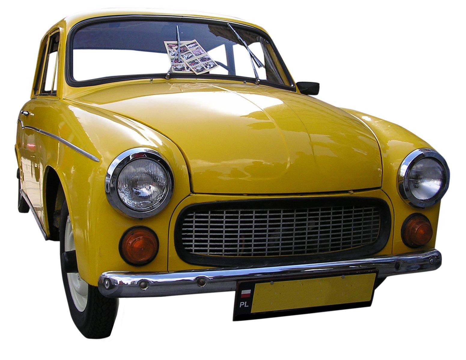 free old polish car stock photo. Black Bedroom Furniture Sets. Home Design Ideas