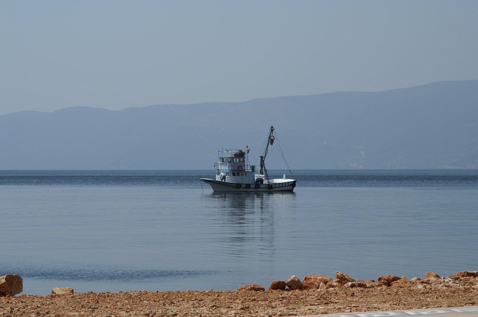 Free fishing boat 2 stock photo for Free fishing boats