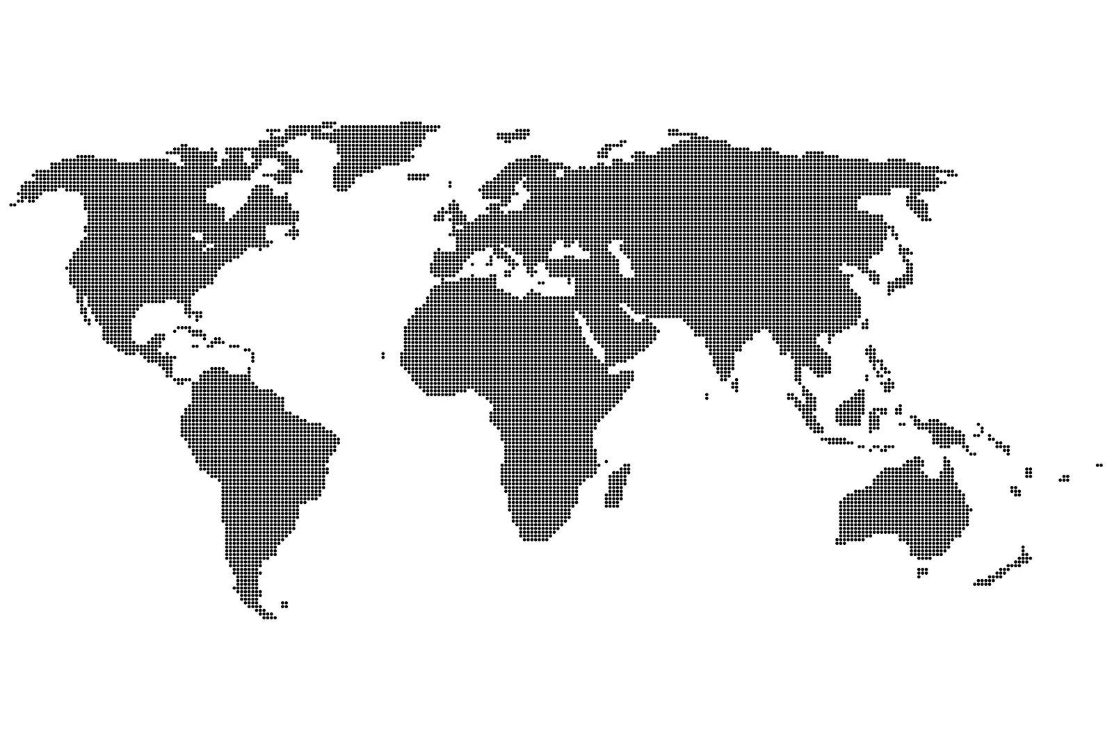 Dot World Map.Free Dot World Map Stock Photo Freeimages Com