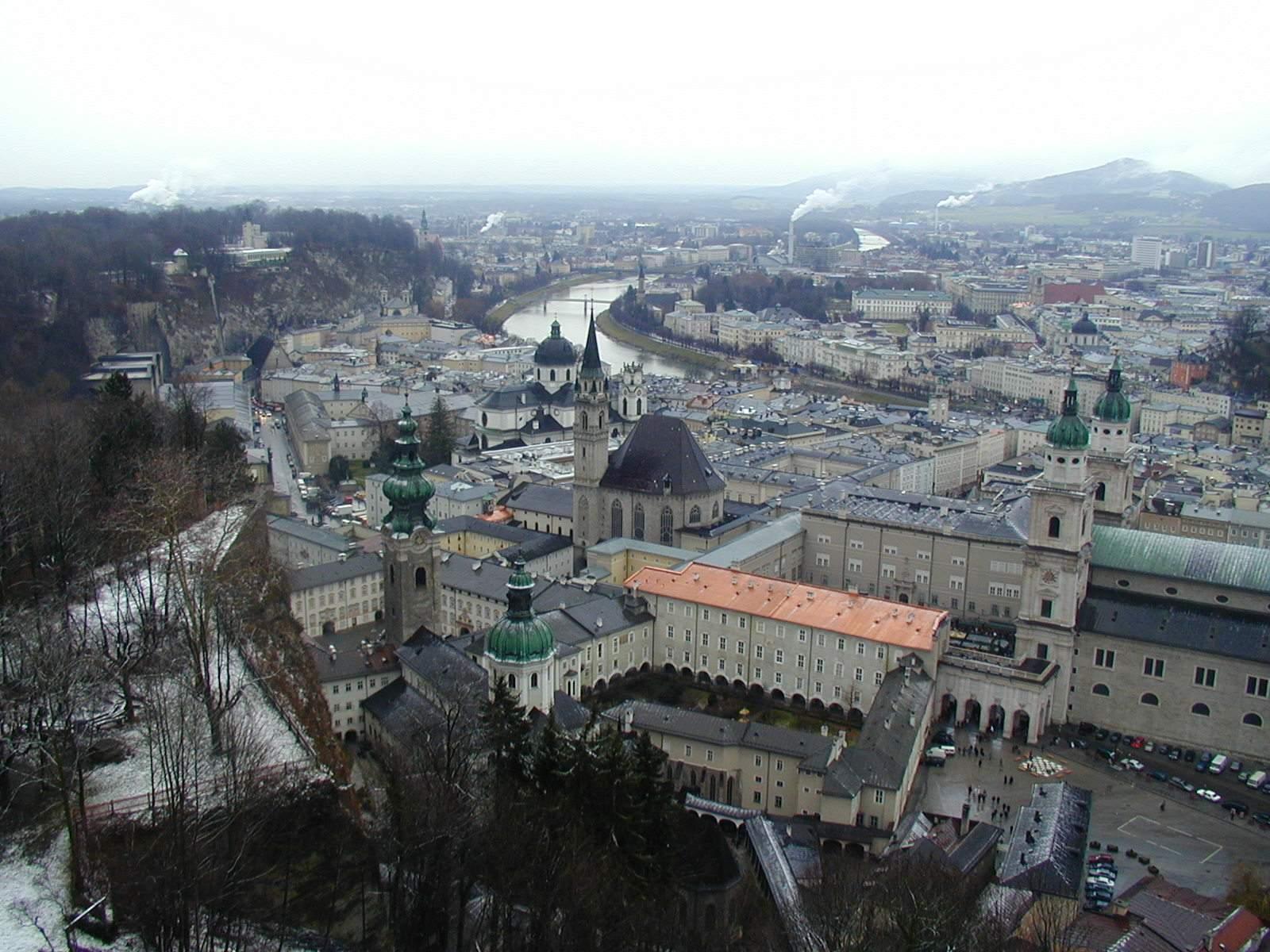 Free Salzburg panorama Stock Photo - FreeImages.com