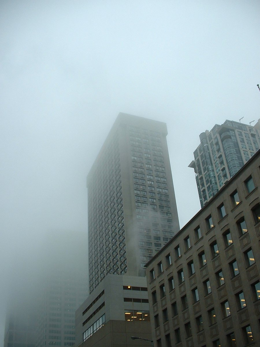 Free Fog and Office Buildings Stock Photo - FreeImages.com
