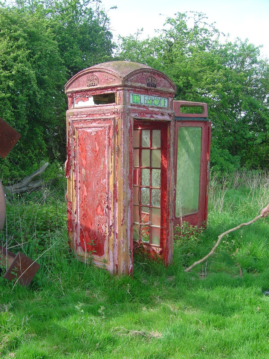 Free Old Red Phone Box 1 Stock Photo Freeimages Com