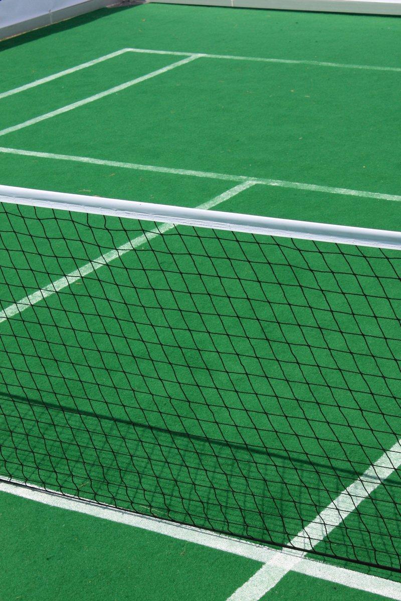 Soft tennis court