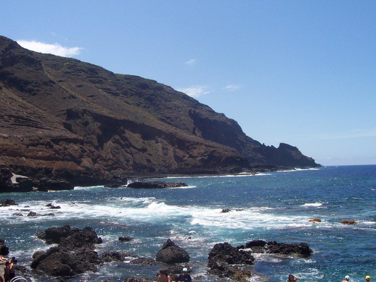 Free La Palma, sea and mountains Stock Photo