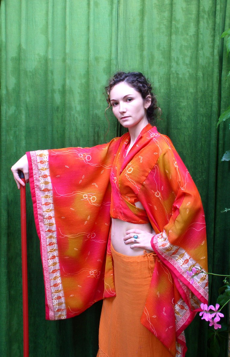 girl with oriental dress 1