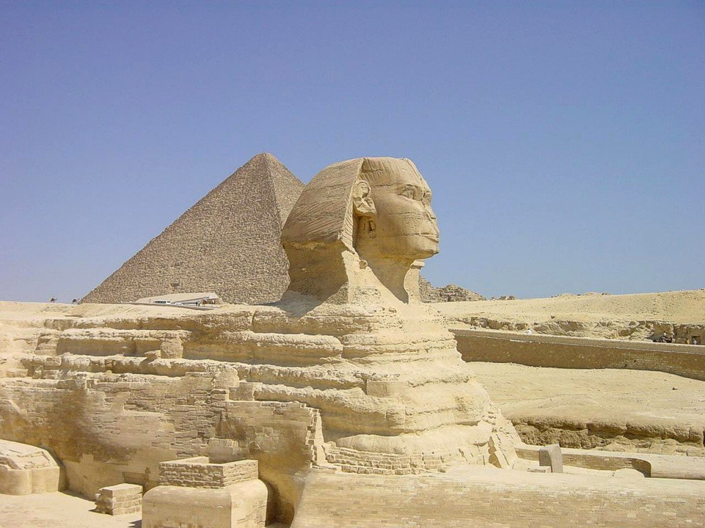 Kostenloses Die Grosse Sphinx Von Gizeh Photos Freeimages Com
