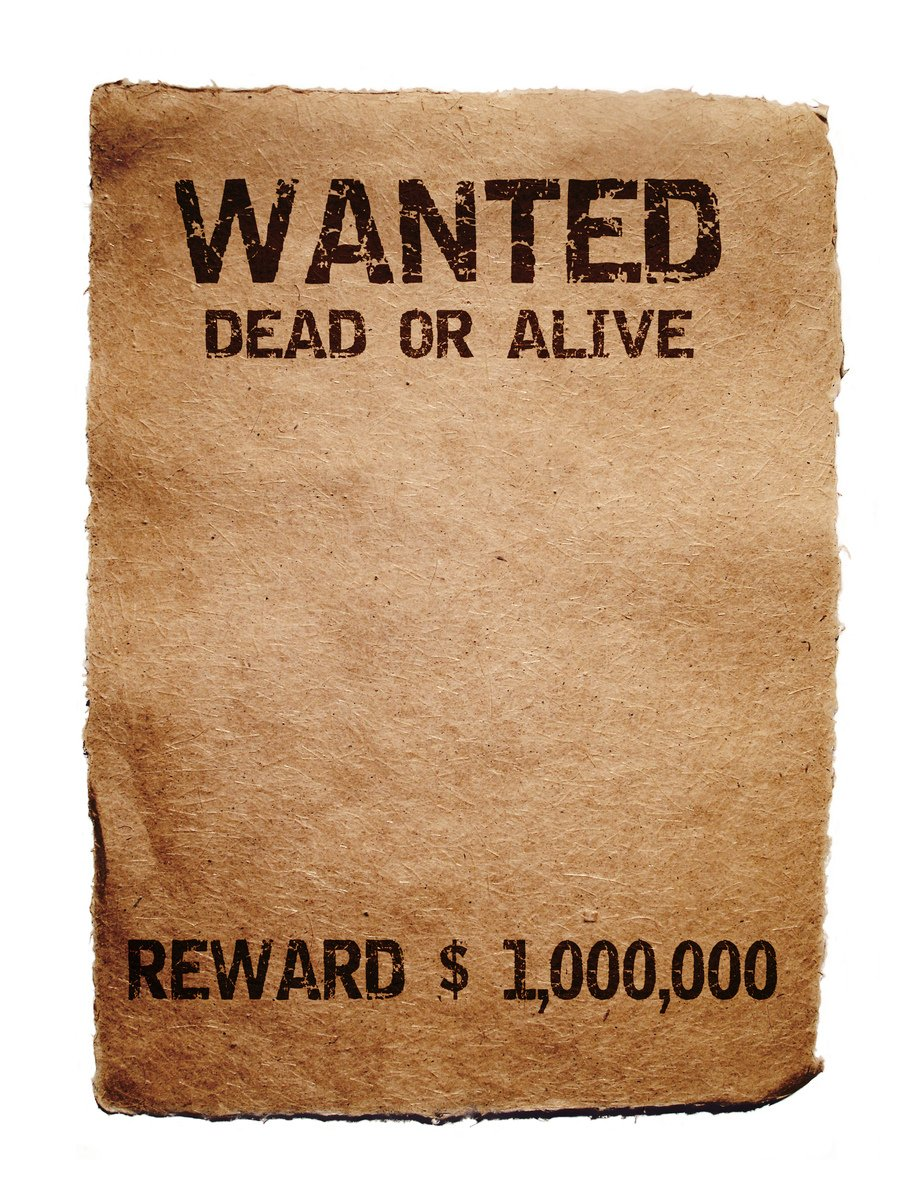 Free Wanted Poster Stock Photo Freeimages