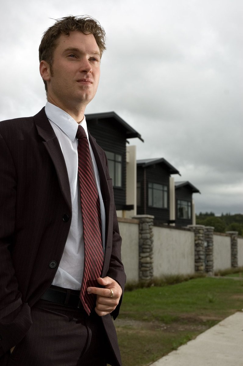 free real estate agent 1 stock photo