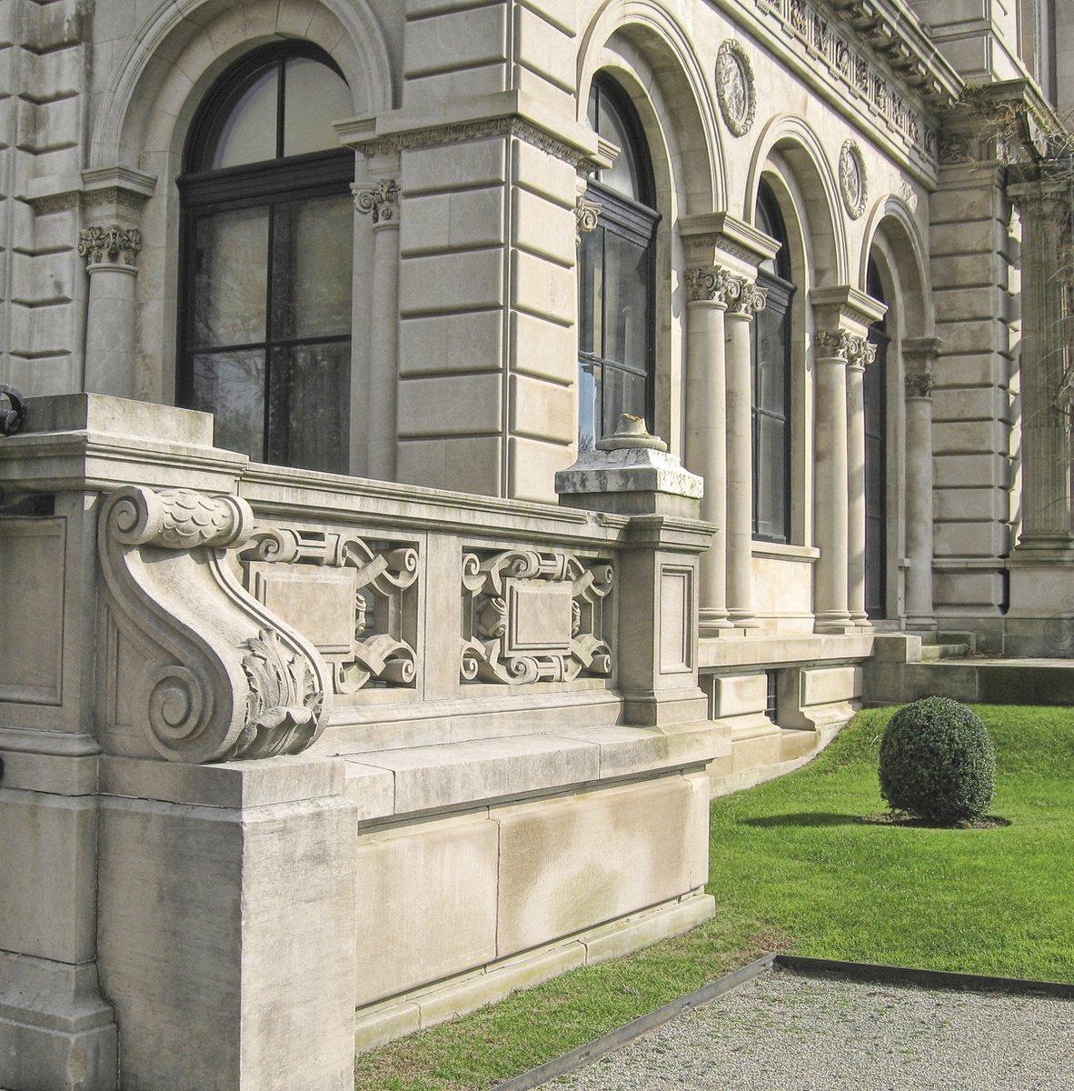 Free Vanderbilt Mansion, Rhode Island Stock Photo