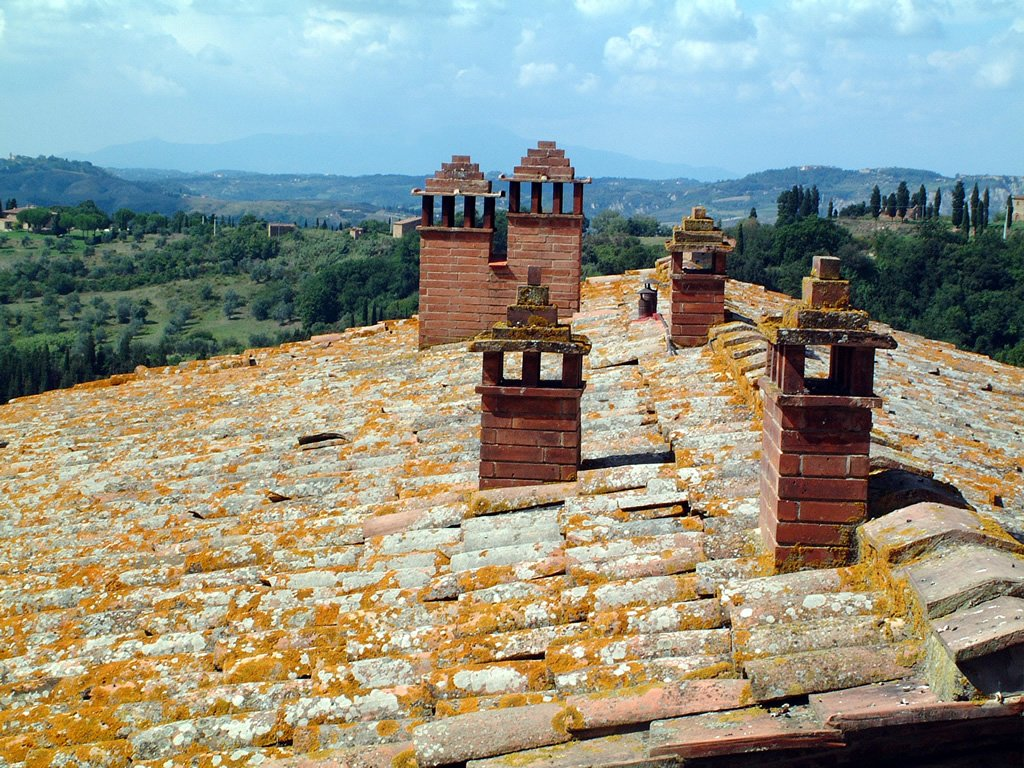 Free tuscan roof top stock photo for Tuscan roof design