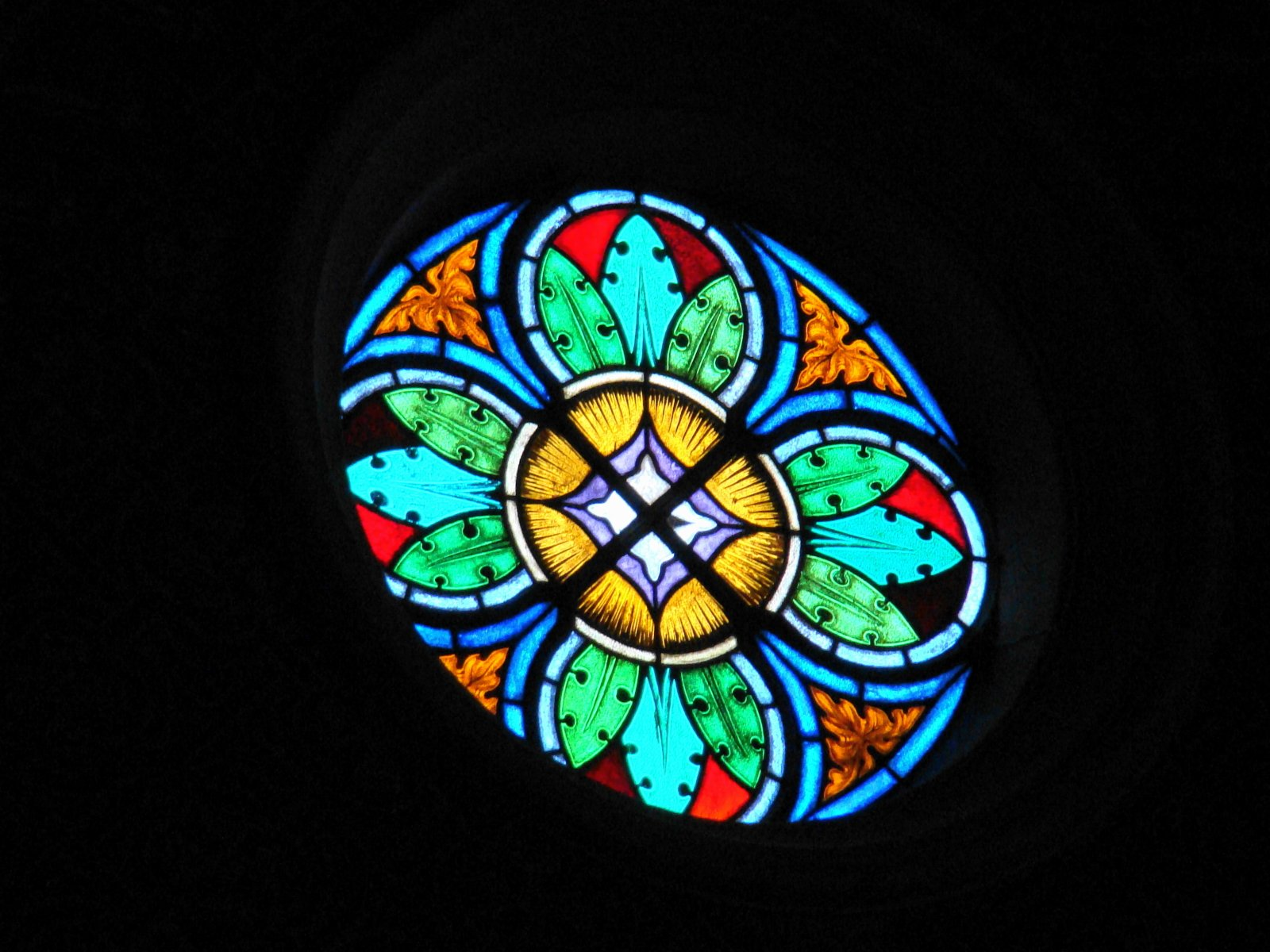 Free Stained Glass Window Stock Photo