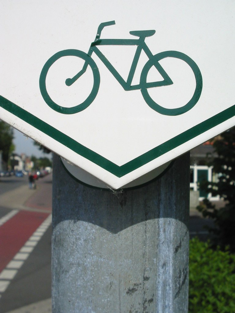 Bike Streetsign