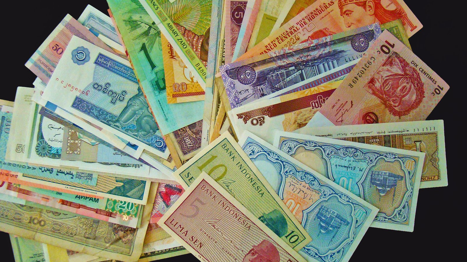 Free World Paper Money Stock Photo - FreeImages com