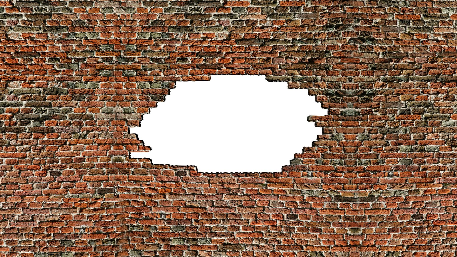 Free Brick Wall Hole 1 Stock Photo - FreeImages.com
