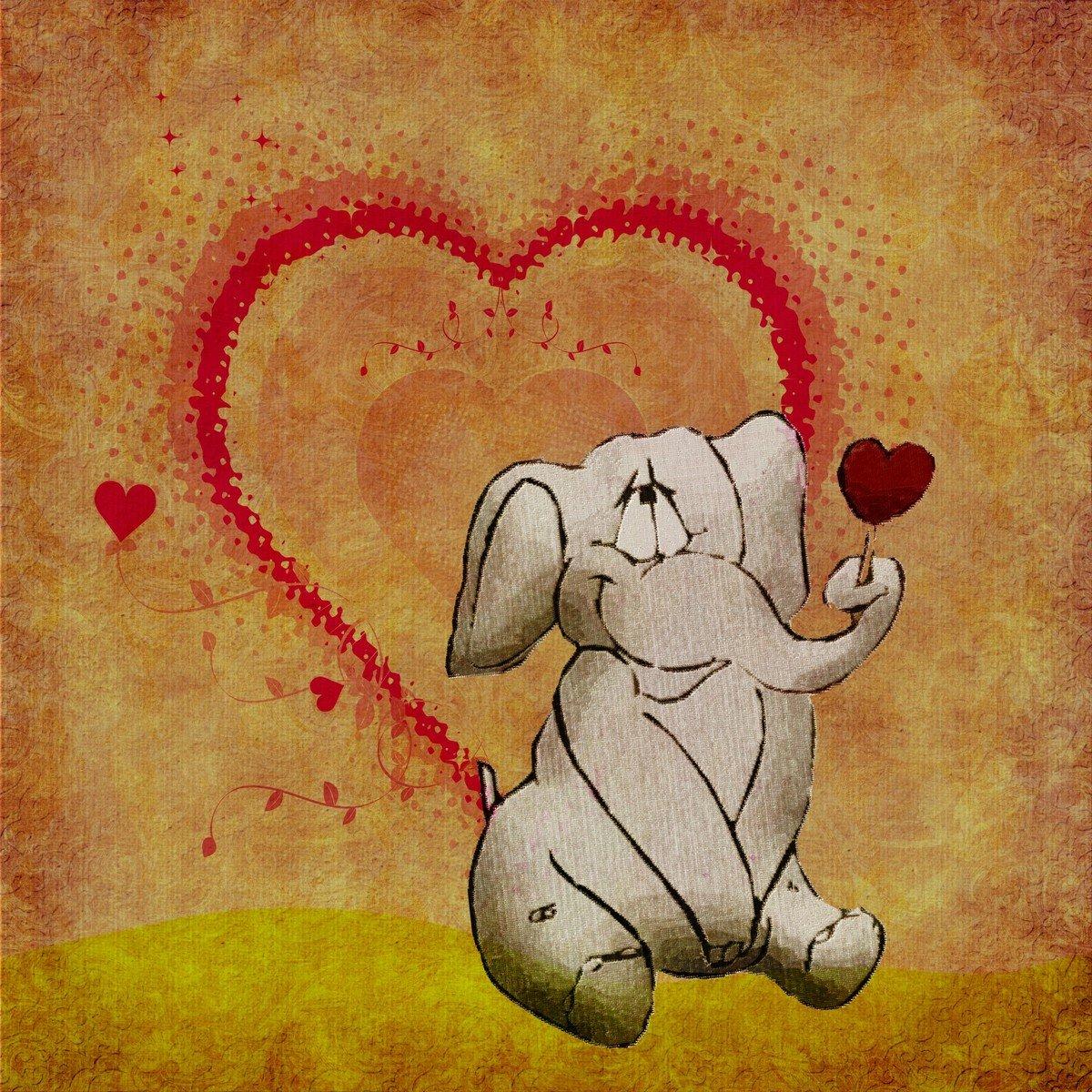 Рисунки приколы про любовь, днем рождения