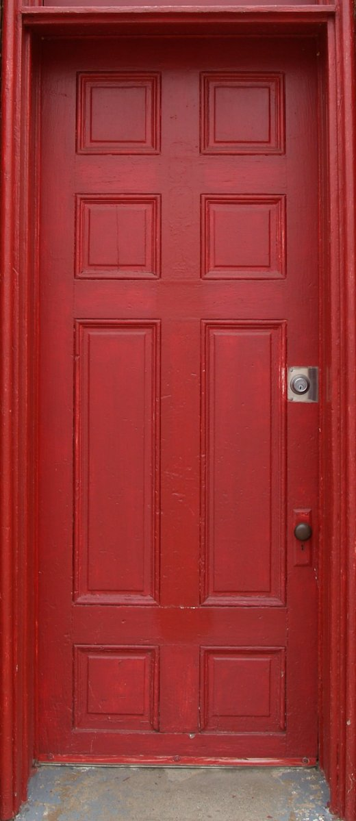 Free Old Red Door Stock Photo Freeimages Com