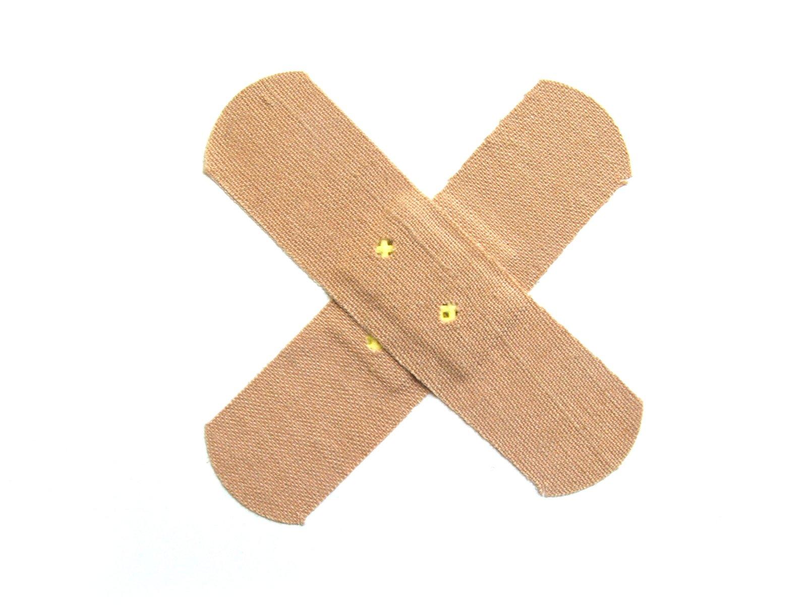 Band-aid criss cross