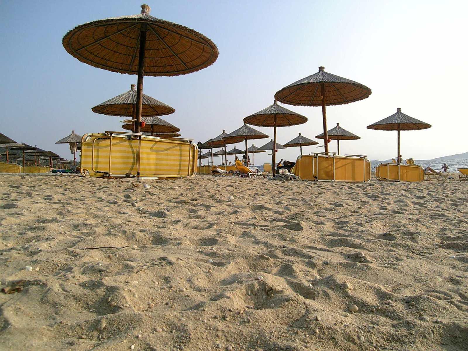 Praia Palms de Umbrellas