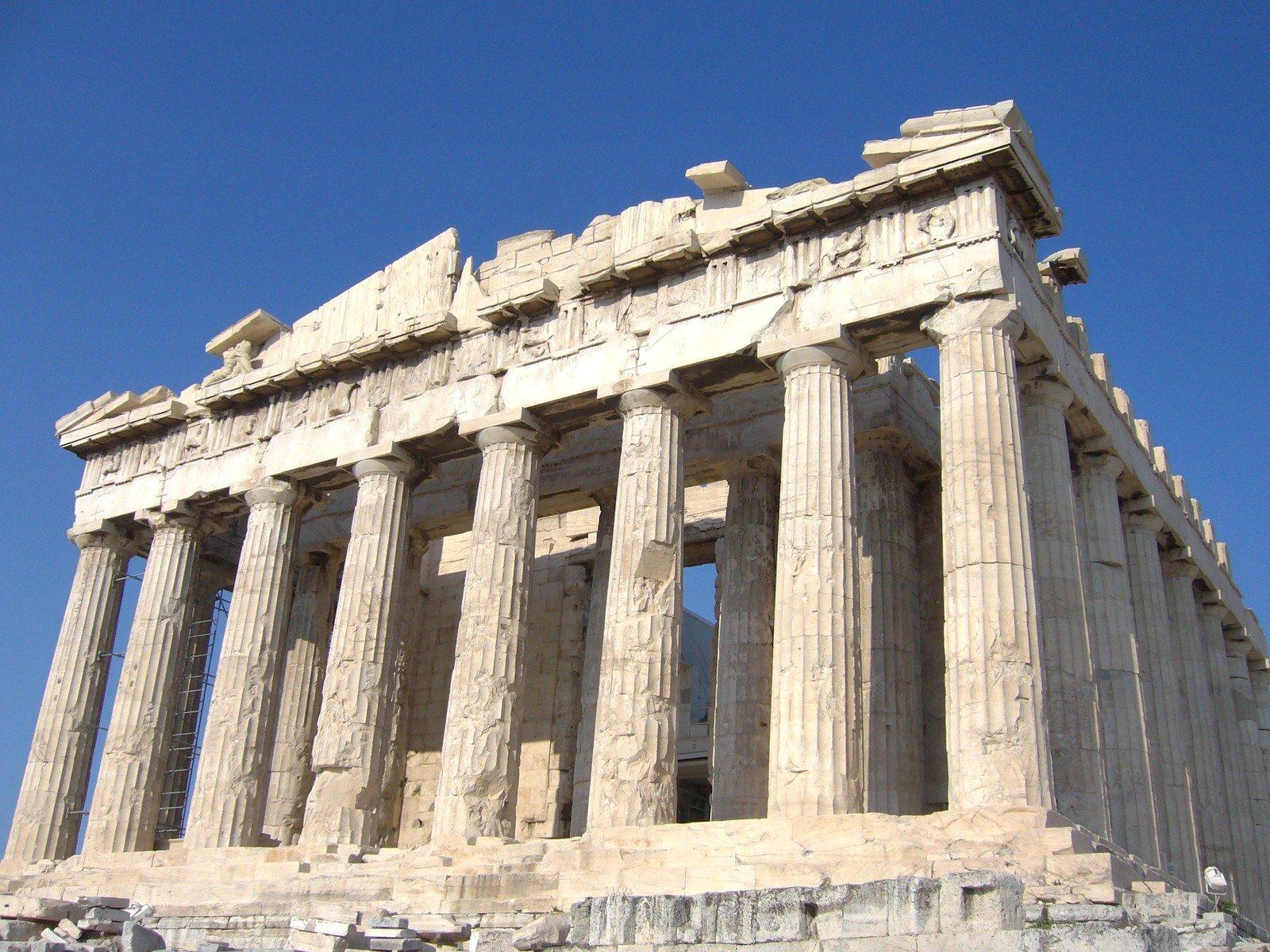 Parthenon on Acropolis, Athens