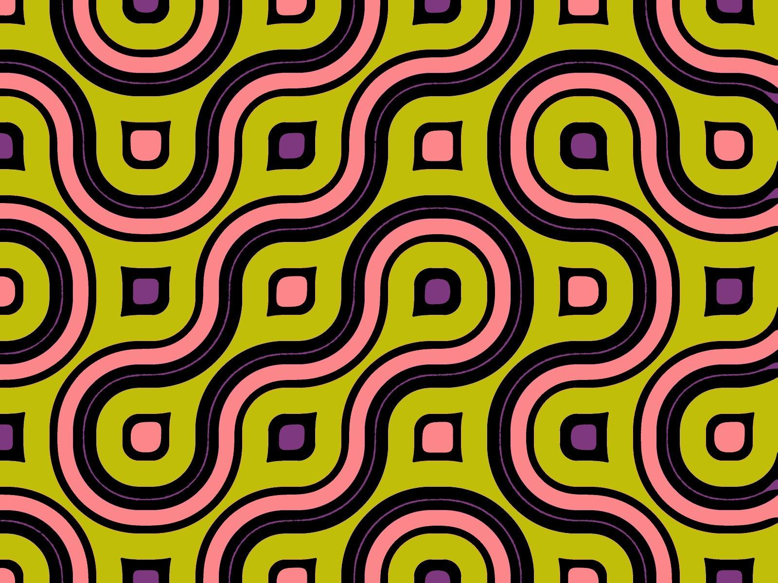 Amazing Vintage 1950s Cotton Barkcloth Fabric