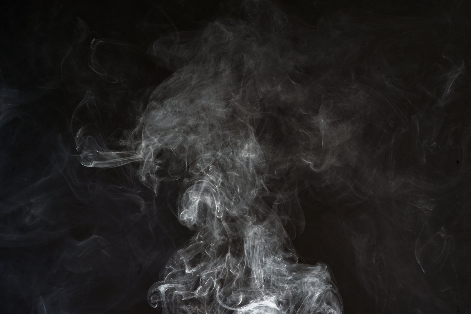 Free thick smoke on black background stock photo - Dark smoking wallpapers ...
