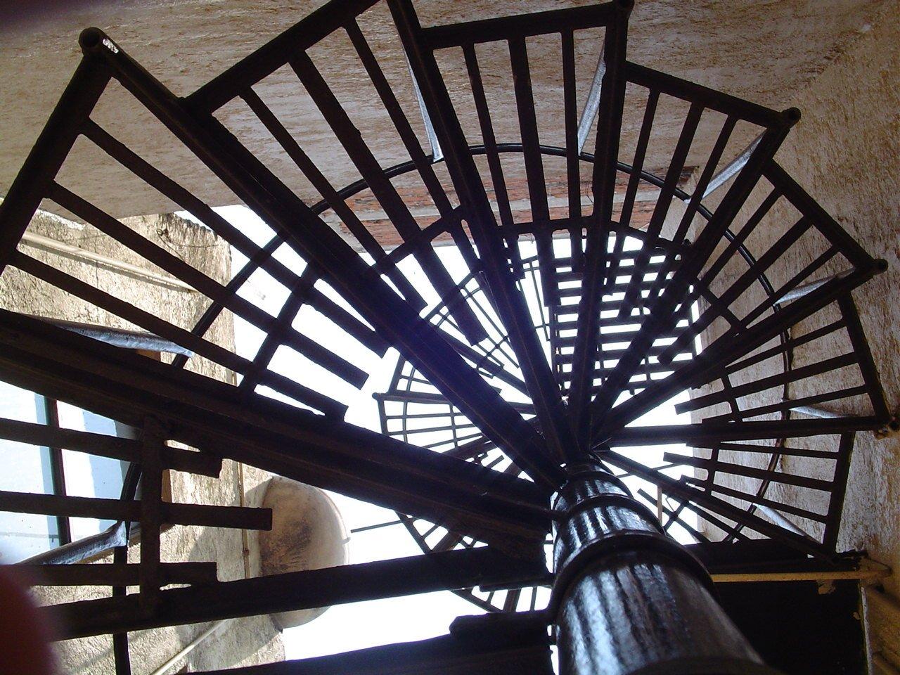 Escaleras stair espiral spiral sky