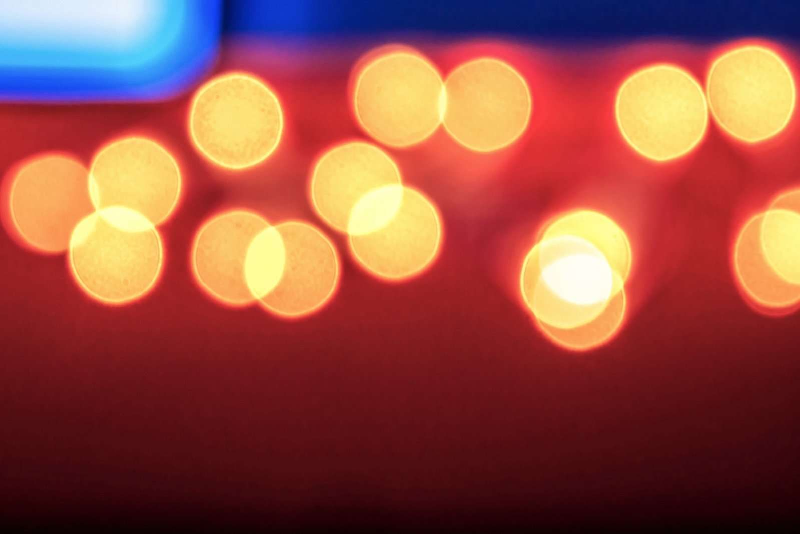 Bokeh Effect Backgrounds: Free Abstract Background Of Blurred Lights With Bokeh