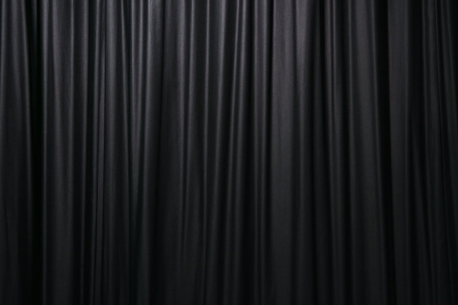 Black living room curtains