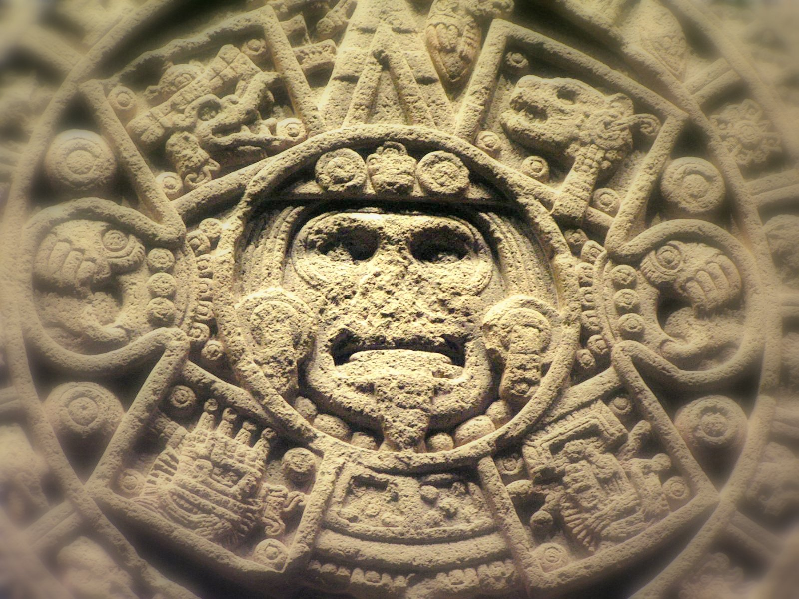 Aztec Calendar Stone.Free Aztec Calendar Stone Detail Stock Photo Freeimages Com